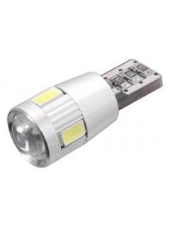 "12V LED ""5W"" 6 SMD LED 12V T10 s rezistorem"