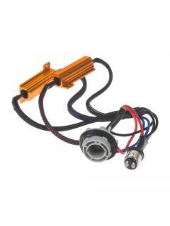 Rezistor pro žárovku BAY15D 12V/21W, 6 ohm, hliníkové pouzdro