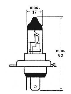 12V HS1 35/35W PX43t TRIFA