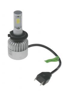 COB LED H7 bílá, 9-32V, 8000LM, IP65