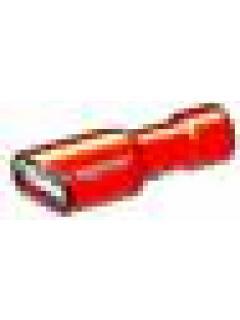 Zásuvka R celoizolovaná 6,3mm  - dutinka -