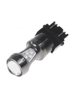 LED T20 (3157) oranžová, 12-24V, 16LED/3030SMD