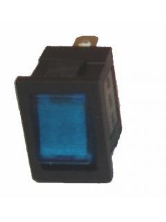 Vypínač kolébkový podsvícený M 14x20mm