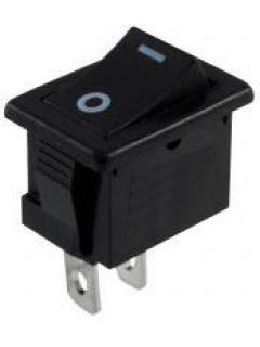 Vypínač kolébkový černý 14x20mm