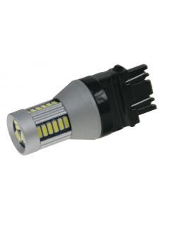 LED T20 (3157) bílá, 12-24V, 30LED/4014SMD, 1ks