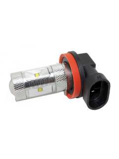 CREE LED H10 12-24V, 30W (6x5W) bílá