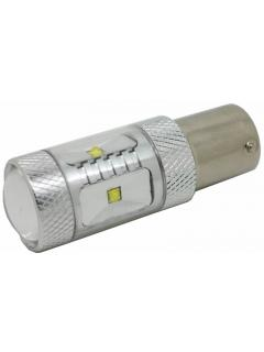 CREE LED BAY15D 12-24V, 30W (6x5W) červená, 1ks