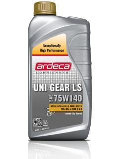 ARDECA 75W-140, UNI GEAR LS 75W140 GL5 1L