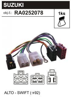 ISO adaptér SUZUKI