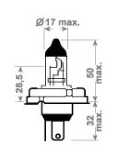 12V HR2 45/40W P45t TRIFA
