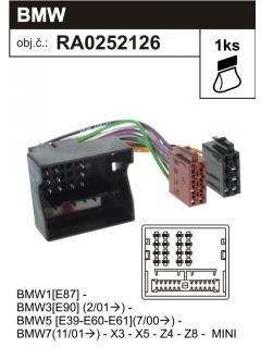 ISO adaptér BMW