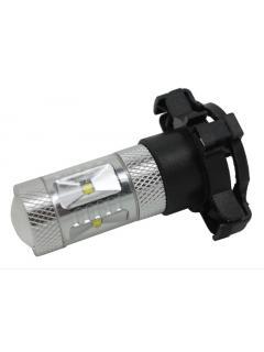 LED PY24W bílá, 12-24V, 30W (6x5W), 1ks