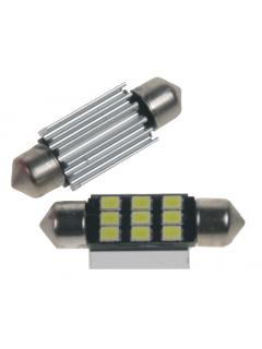 LED sufit (36mm) bílá, 12V, 9LED/2835SMD s chladičem, 1ks