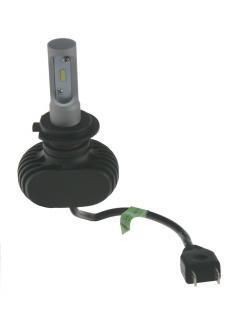 CSP LED H7 bílá, 9-32V, 4000LM, IP65