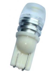 LED T10 bílá, 12V, 1LED/1,5W, 1ks