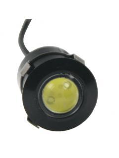 LED světlo pro denní svícení (eagle eye) 20mm, 12V, 3W, bílá