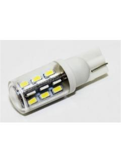 TURBO LED T10 bílá, 12V, 24W, 1ks