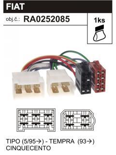ISO adaptér FIAT