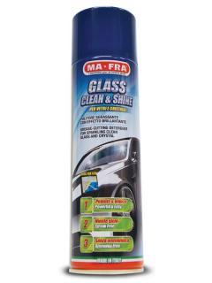 MAFRA GLASS CLEAN&SHINE, aktivní pěna na čištění skel