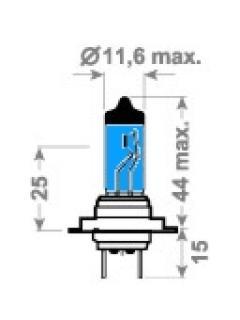 12V H7 55W PX26d  X-Blue TRIFA