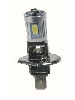 LED H1 bílá, 12V, 12SMD Samsung + 3W Osram