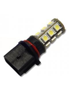 LED P13W bílá, 12V, 18LED/3SMD