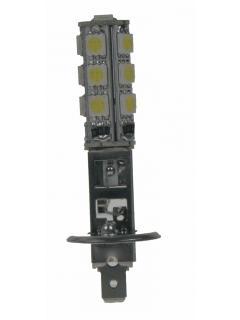 LED H1 bílá, 12V, 13LED/3SMD