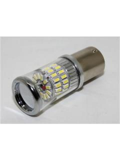 TURBO LED 12-24V s paticí BA15S, 48W červená, 1ks