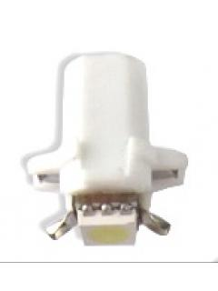 Mini LED B8,3 bílá/3SMD, 1ks