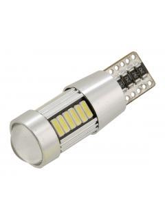 Žárovka 27 LED 12V T10 NEW-CAN-BUS bílá 2ks