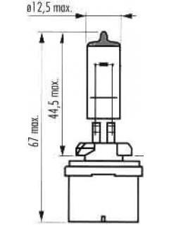 12V H50W (885)  PG13 TRIFA
