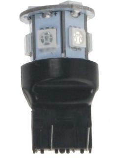 LED T20 (7443) červená, 12V, 9LED/3SMD
