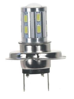 LED H7 bílá 10-30V, 12SMD 5630 + 3W