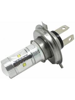 CREE LED H4 bílá, 12-24V, 30W (6x5W), 1ks