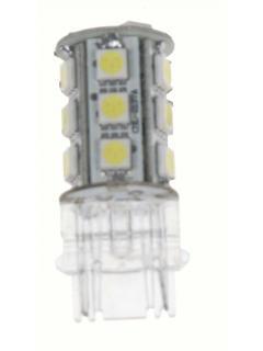 LED T20 (3156) bílá, 12V, 18LED/3SMD