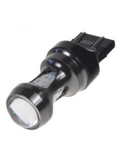 LED T20 (7443) oranžová, 12-24V, 16LED/3030SMD