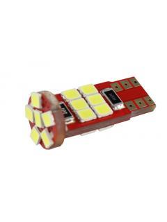 LED T10 bílá, 12V, 18LED/2835SMD, 1ks