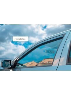 Ofuky oken Mitsubishi Colt 5D 04- LTB (+zadní)