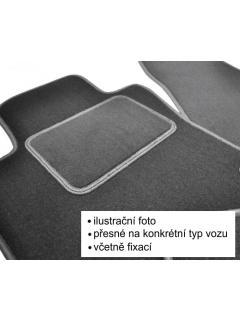 Textilní autokoberce Luxus Fiat 500 C Twinair 2013 ->