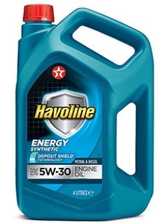 Texaco Havoline   5W-30 Energy   4L