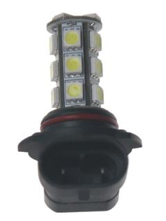 LED HB4 (9006) bílá, 12V, 18LED