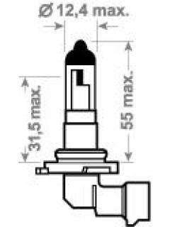 12V HB4 51W P22d ( 9006 ) TRIFA