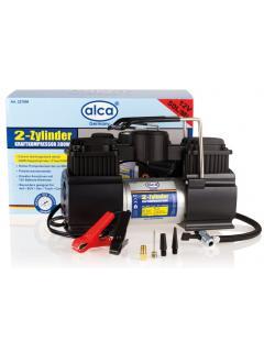 Kompresor ALCA dvoupístový 12V vysokoobjemový PROFI