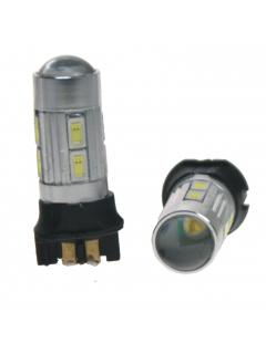 LED PW24W bílá, 12V, 8 x 5630SMD + 3W CREE, 1ks