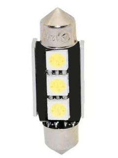 LED sufit (36mm) bílá, 12V, 3LED/3SMD s chladičem