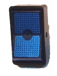 Vypínač kolébkový podsvícený M 19x33mm