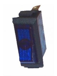 Vypínač kolébkový podsvícený M 14x30mm