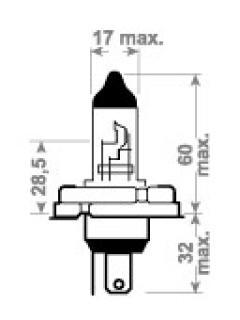 12V HR2 60/55W P45t TRIFA