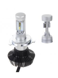 LED H4 do světlometů (set), 4000Lumen, nehomologovaná, bílá