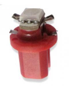 Mini LED B8,5 červená/3SMD, 1ks